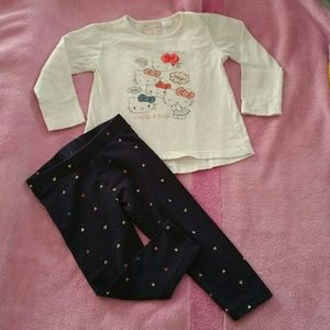 🔴$3 IF BUNDLE. Baby girl outfit